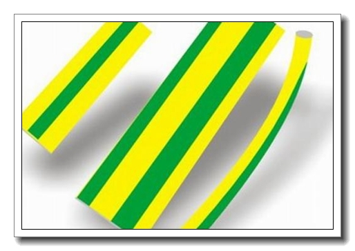 黄绿热缩管