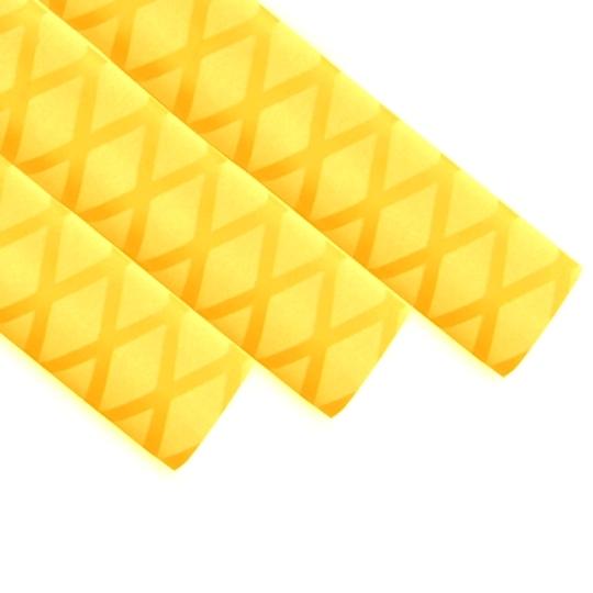 黄色花纹热缩管