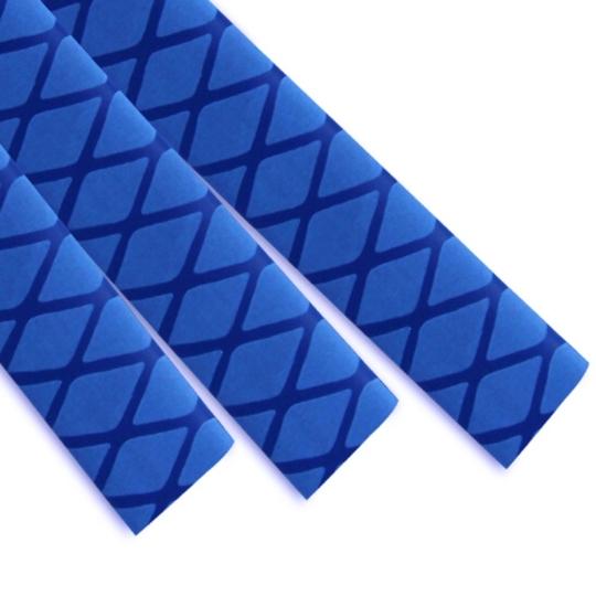 蓝色花纹热缩管
