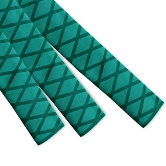 绿色花纹热缩管
